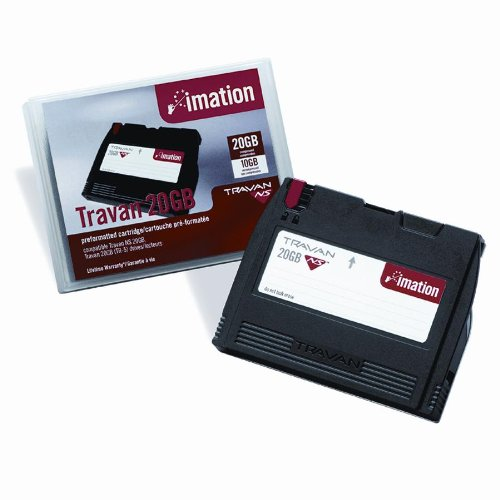 New-imation 12132 - Travan NS Dry Process Cleaning Cartridge for Travan 4, 30 Uses - IMN12132