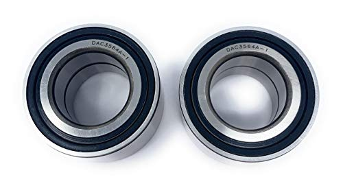 Iconic Racing Both Front Wheel Bearings Compatible With 02-14 Polaris Sportsman 600 700 800 Twin EFI HO -