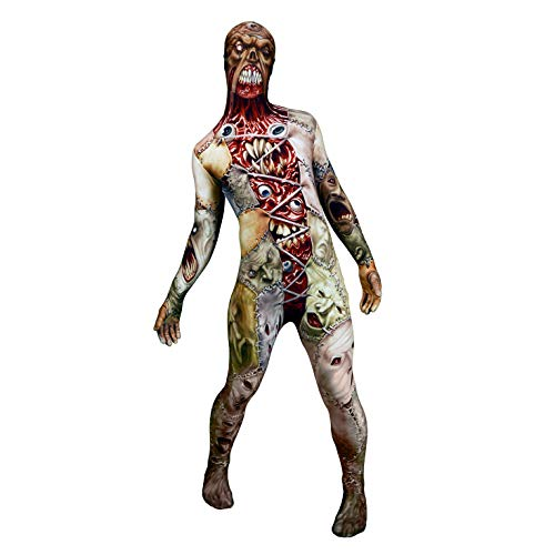 Morphsuits Men's Monster Facelift Skinsuit, Medium