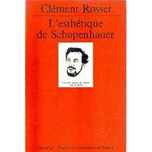 Esthétique de Schopenhauer (L')