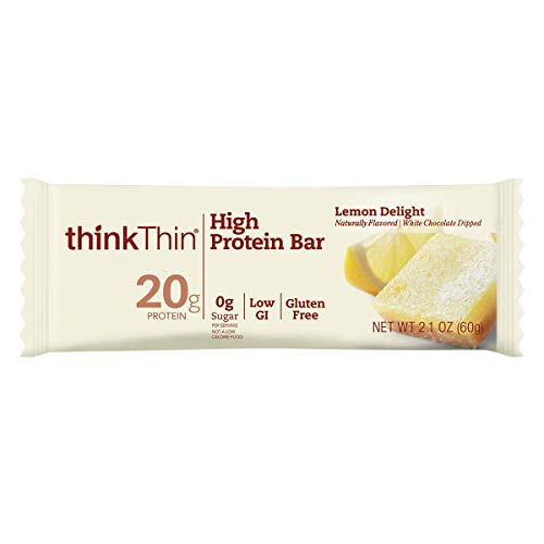 High Protein Bars by thinkThin - On The Go, 20g Protein ...