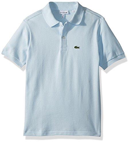 Lacoste Boys' Big' Classic Short Sleeve Petit Piqué Polo Shirt, Rill, ()