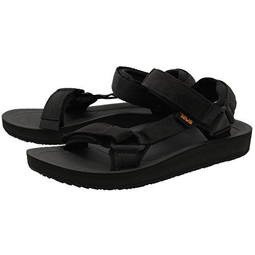 適格スピンつかいますTeva(テバ) メンズ 男性用 シューズ 靴 サンダル フラット Original Universal Premier - Black [並行輸入品]