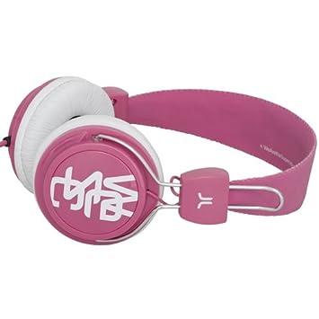 Wesc WECE003 - Auriculares de diadema cerrados estéreo, rosa