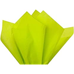 Citrus Green Wrap Tissue Paper 15 Inch X 20 Inch - 100 Sheets