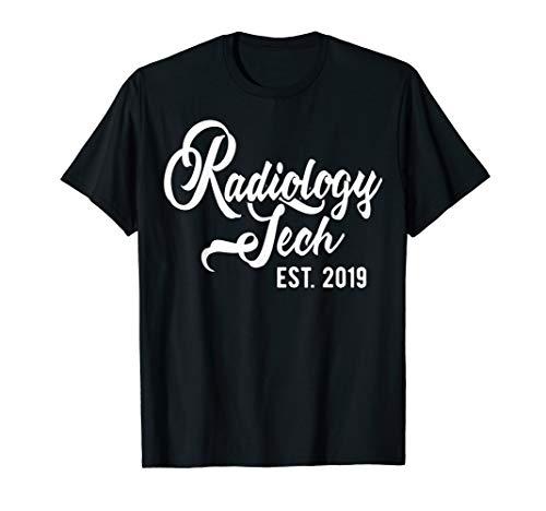 New Radiology Tech Gift - Radiology Tech est 2019 Shirt (Best New Tech Gifts 2019)