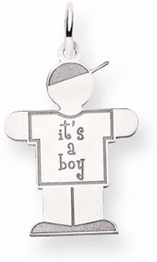 Best Quality Free Gift Box 14k Kid Charm