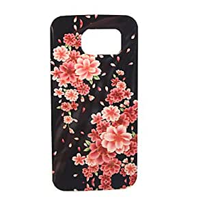 QHY 20150511 Daisy Painting Falling Proof TPU Case for Samsung Galaxy S6/G920