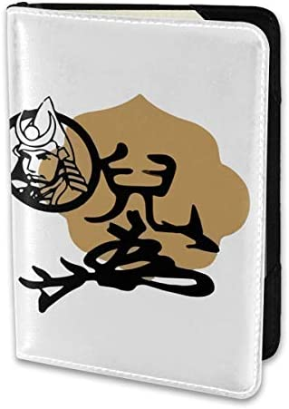 戦国武将 宇喜多秀家 Ukita Hideie パスポートケース メンズ 男女兼用 パスポートカバー パスポート用カバー パスポートバッグ 小型 携帯便利 シンプル ポーチ 5.5インチ高級PUレザー 家族 国内海外旅行用品