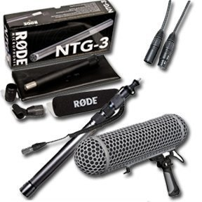 Rode NTG-3 Precision Broadcast Grade Cardioid Microphone w/Booming Sound KIT by Rode