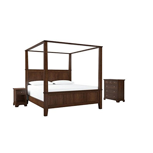 Home-Styles-Furniture-5529-6103-Chesapeake-Canopy-BedNight-StandChest-King