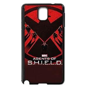 Personality customization TPU Case with S.H.I.E.L.D S.H.I.E.L.D Samsung Galaxy Note 3 Cell Phone Case Black