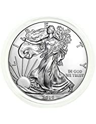 2019 - American Silver Eagle .999 Fine Silver in Direct Fit Air Tite with our Certificate of Authenticity Dollar Uncirculated Us Mint