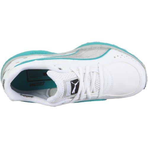 Puma zapatillas de deporte del organismo tren sl wn 185651 FITNESS para mujer Blanco (Weiss/White-Puma Silver-Viridian Green)
