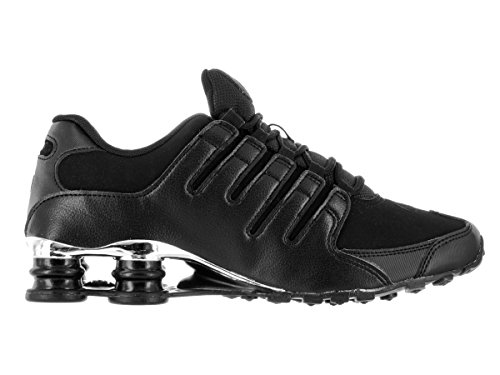 Nike Menns Shox Nz Sl Joggesko Sort / Krom