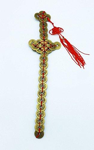 Feng Shui Zen Art Brass Money Coin (Coin Sword)