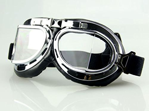 Sports Vintage Glasses Pilot Style Motorcycle Cruiser Scooter Goggle For Motorbike Cool Goggles