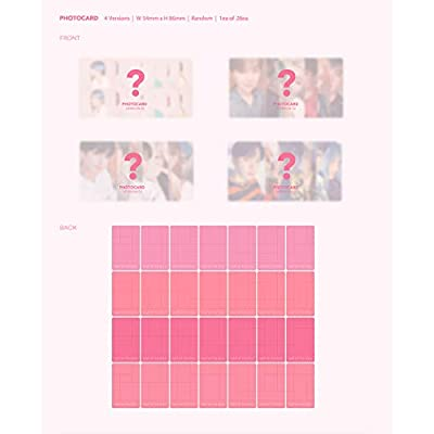 Bangtan Boys BTS Map of The Soul : Persona [Ver.01+Ver.02+Ver.03+Ver.04 Set] - Pack of 4CD, 4Photobook, Photocards, 4Folded Poster with Pre Order Benefit, Extra Decorative Sticker Set, Photocard Set: Home & Kitchen