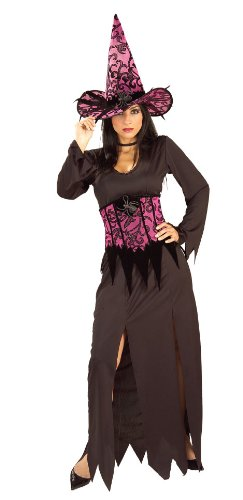 [Rubie's Costume Adult Elegant Witch Costume, Purple, One Size] (Good Witch And Bad Witch Costumes)