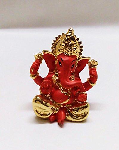 19a5c4bd459 Chintamani Arts Gold Plated Divine Ganesh Idols
