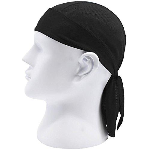 Unisex Headbands Quick Dry Sweat Wicking Bandana Hat Sports Sweatband Headwear
