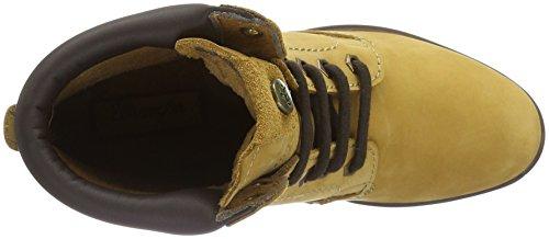 Wrangler Sierra Creek, Zapatillas de Estar por Casa para Mujer Amarillo - Gelb (24 Tan Yellow)