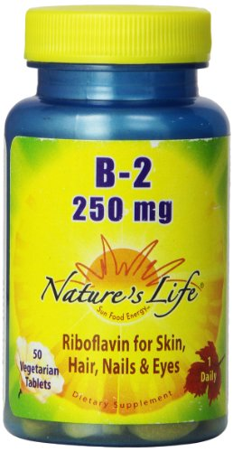 Nature's Life B-2 Tablets, 250 Mg, 50 Count
