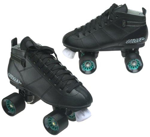Chicago Bullet Men's Speed Skate -Black Size 9 by Chicago Skates