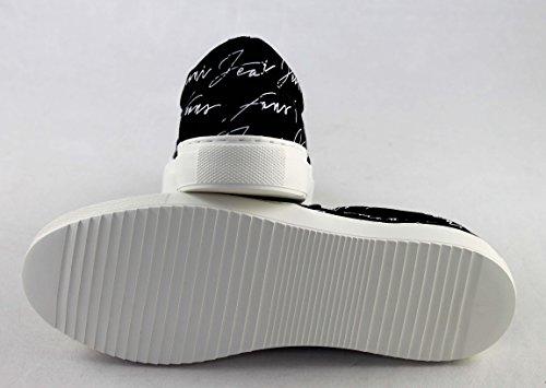 Armani Schuhe Schwarz Herrenschuhe Shoe Slipper 935064 Jeans 0gwrqPx0