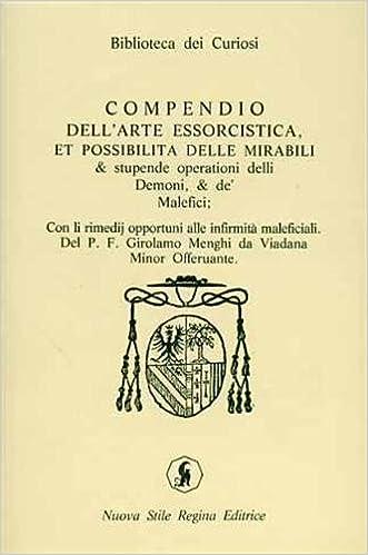 """Girolamo Menghi /""""Compendio dell/'arte essorcistica/"""""""