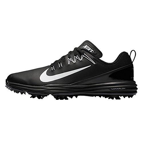 Nike Lunar Command 2 Golf Shoes Black/White 11.5 Medium