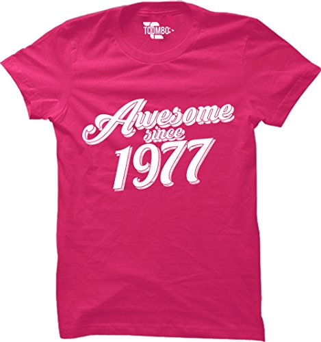 Tcombo Awesome 1977 40th Birthday T shirt product image