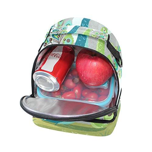 correa de Alinlo con real el Bolsa ajustable aislamiento pavo almuerzo con de hombro para Hw6qzx5Zw