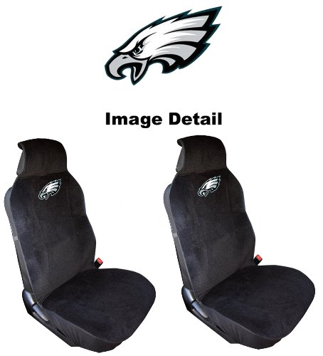 philadelphia eagles headrest covers price compare. Black Bedroom Furniture Sets. Home Design Ideas