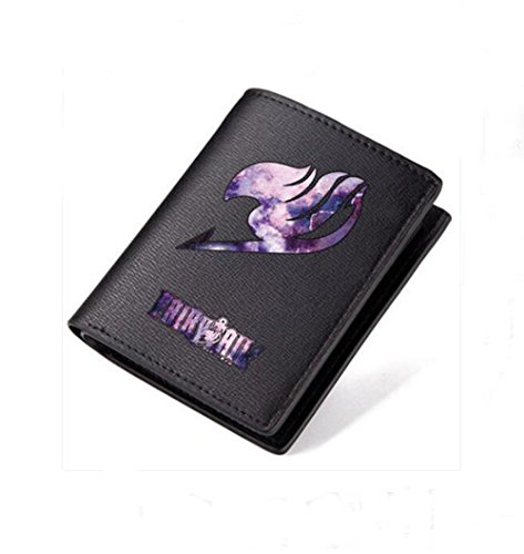 yushert Anime Fairy Tail Men's Wallet Bifold Pu Leather (#2 (Tail Mens Wallet)