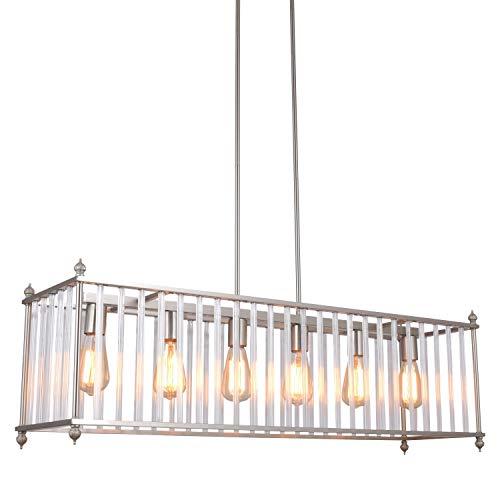 Nickel Pendant Lighting Kitchen in US - 7