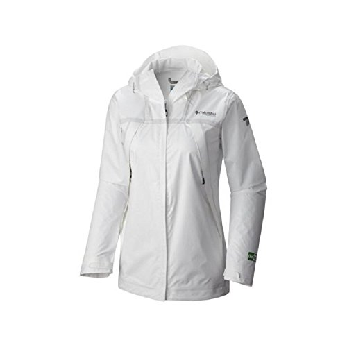 Columbia Outdry Ex Eco Fish Tale Casual Shell Jacket - Women's White Undyed, M
