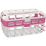 Munchkin High Capacity Dishwasher Basket, Pink