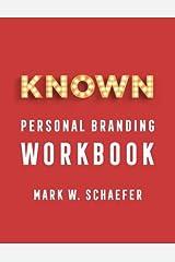 KNOWN personal branding Workbook Paperback
