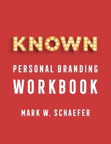 KNOWN personal branding Workbook [Mark Schaefer] (Tapa Blanda)