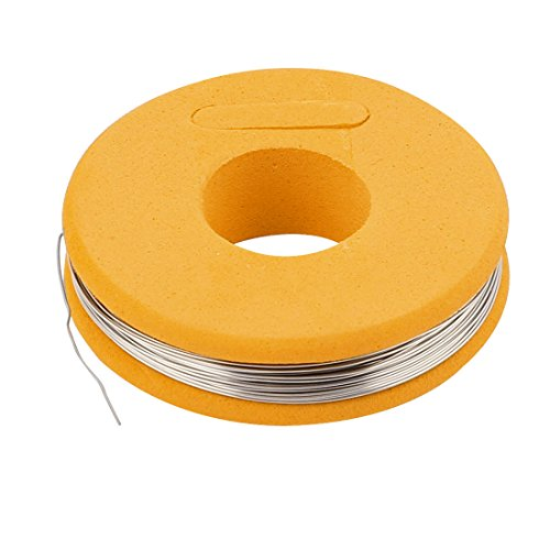 (uxcell Nichrome 80 0.3mm 29 Gauge AWG 25ft Roll 4.87 Ohms/ft Heater Wire)