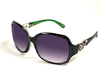 0aa213a170088 Image Unavailable. Image not available for. Color  CV1502-Gucci Inspired  Sunglasses With Rhinestone