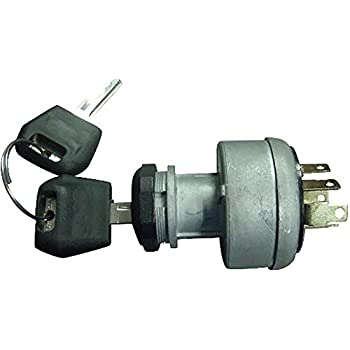 d134737 case/ih ignition switch with 2 keys made for tractor dozer backhoe