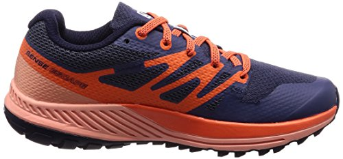 Blue Salomon W Coral Blue Blue Sense Crown Almond Trail Running Escape Shoes Women's Nasturtium 000 rqBtwr0