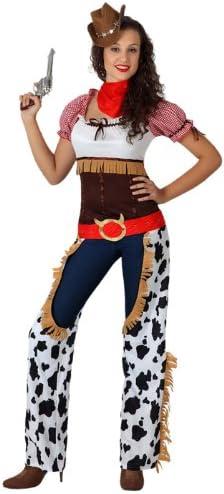 Atosa - Disfraz de vaquera para mujer, talla 34 (15728): Amazon.es ...