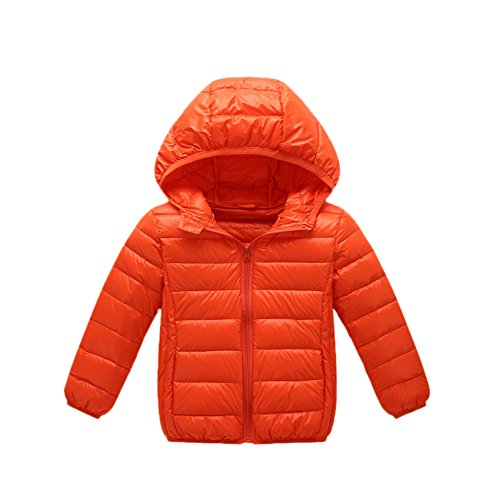 Orange Winter Boys Jacket Chic Black Anoraks Down Children Lightweight Girls Lemonkids;® 6wvntHqx
