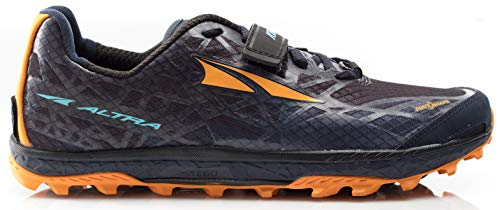 Altra AFM1852G Men's King MT 1.5 Trail Running Shoe, Black/Orange - 10.5 M US