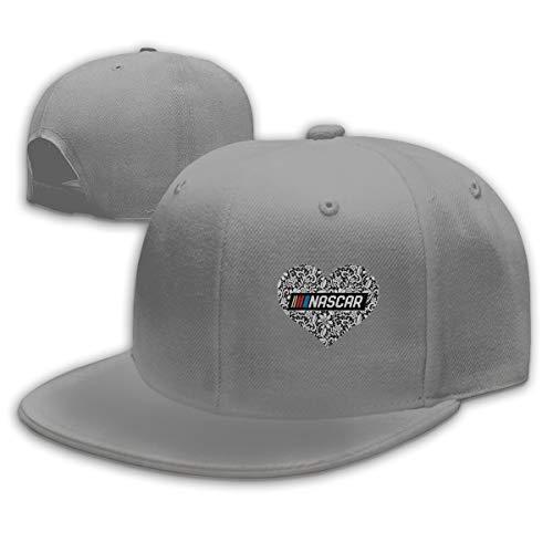 Nascar Washer - SUZETTE MUNOz Nascar Fitted Ballcap Flat Brim Cotton Adjustable Dad Hat Gray