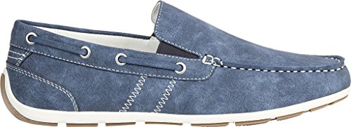 Gbx Mens Ludlam Slip-on Mocassino Denim