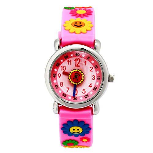 Colorful Silicon Classic Stylish Jelly Strap Unisex Women Lady Girls Wrist Watch (Navy)